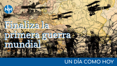 Photo of #UnDiaComoHoy – Finaliza la primera guerra mundial