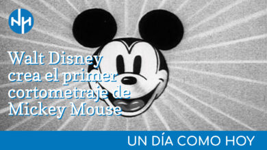 Photo of #UnDiaComoHoy | Walt Disney crea el primer cortometraje de Mickey Mouse