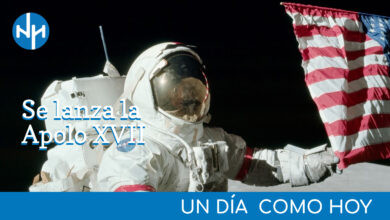 Photo of #UnDiaComoHoy | Se lanza la Apolo XVII