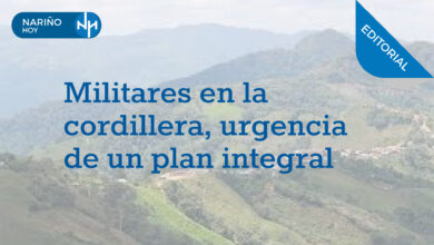 Photo of Militares en la cordillera, urgencia de un plan integral